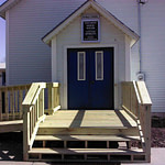 St Mary's Catholic Church Deck and Ramp Completed